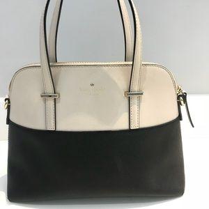 Kate Spade Carli Grove Street Leather Satchel